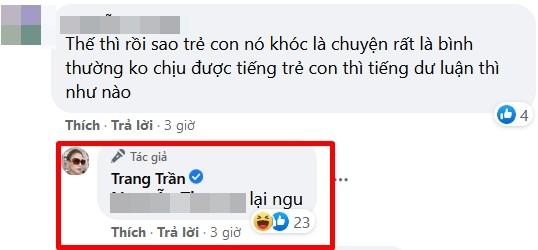 Trang Tran noi dien khi chung kien canh me tat con tren may bay-Hinh-6