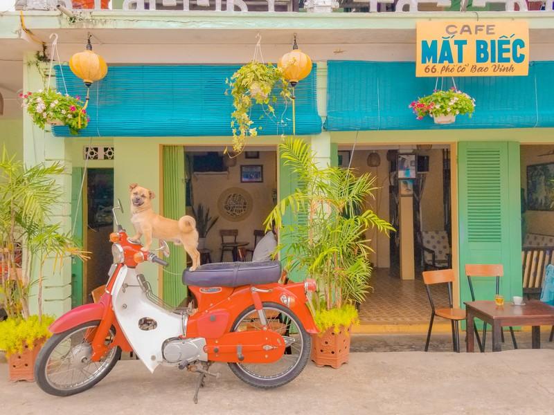 Chu dua cho cung di phuot xuyen Viet bang xe may-Hinh-5