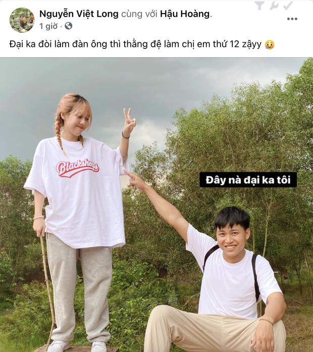 Mui truong Long co hanh dong ga lang voi Hau Hoang