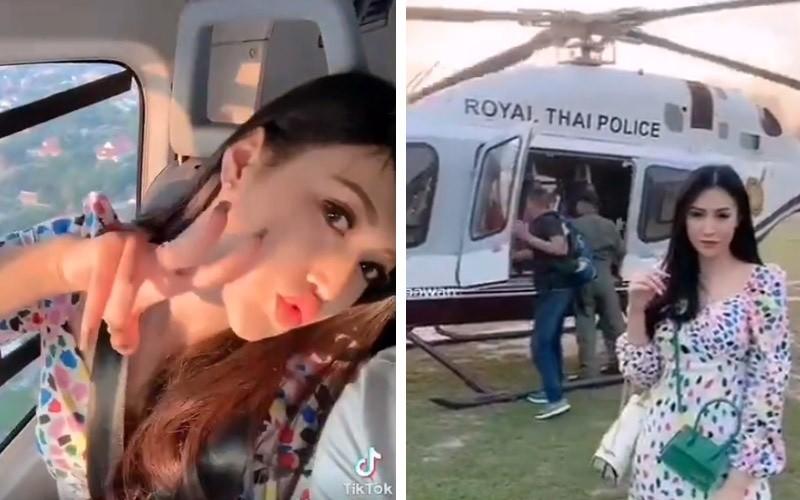 Si quan Thai Lan bi cach chuc vi video check-in cua vo minh