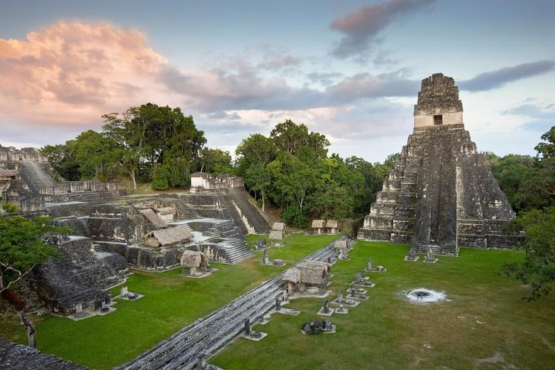 Thu la lung trong thanh co Maya: Nhu