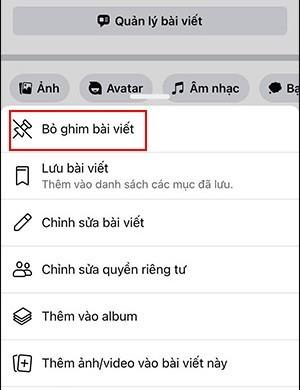 Cach ghim bai viet tren Facebook ca nhan cuc don gian-Hinh-2