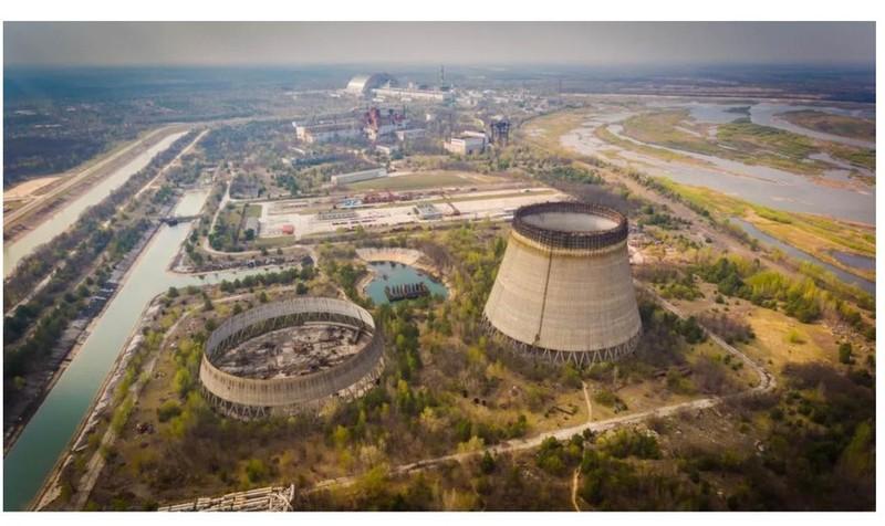 Don dep nha may hat nhan Chernobyl