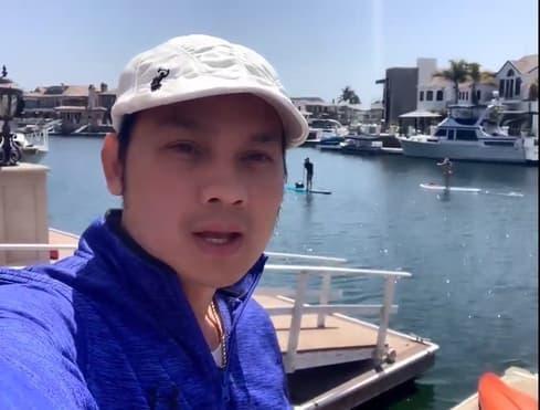 Khong gian nha nghe si cai luong Huong Thuy o My-Hinh-4