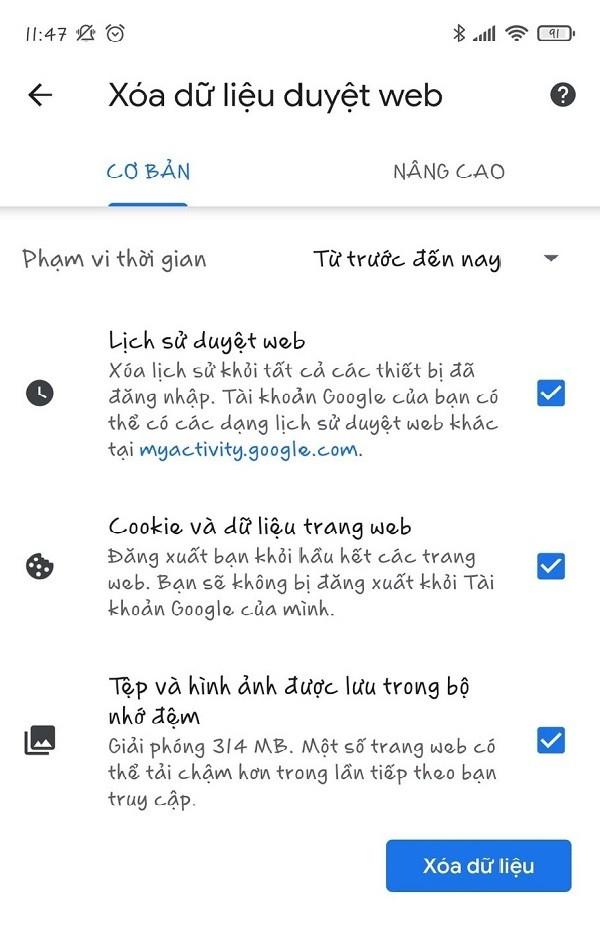 Meo xoa lich su tim kiem Google tren may tinh, dien thoai Android va iPhone-Hinh-11