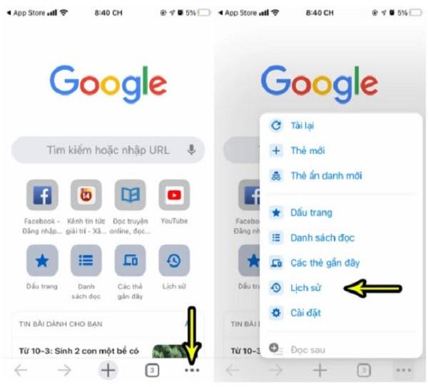 Meo xoa lich su tim kiem Google tren may tinh, dien thoai Android va iPhone-Hinh-12