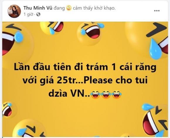 Thu Minh soc vi mat 25 trieu chi de tram 1 cai rang-Hinh-5