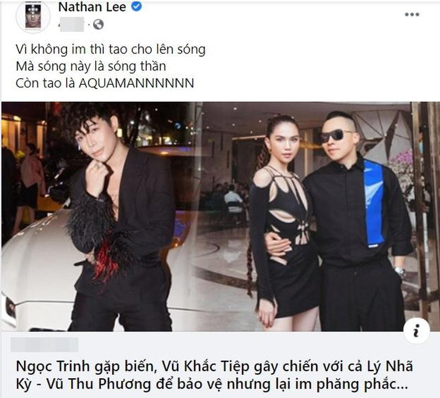 Tuong de yen Vu Khac Tiep, ai ngo Nathan Lee