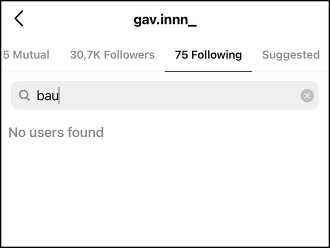 Nghi van Bau va Gavin da