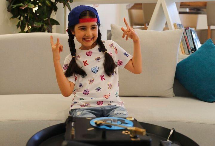 Co be 9 tuoi thanh nu DJ tre nhat Dubai