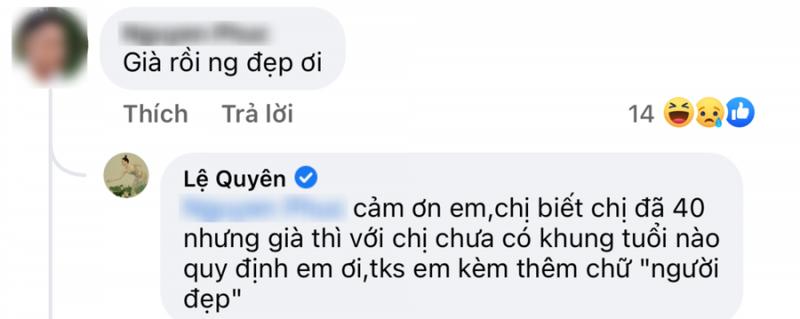 Le Quyen dap tra khi bi che gia con dang anh nhu gai doi muoi-Hinh-2