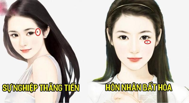 """Nam hay nu co 3 not ruoi """"tru tai"""" ca doi khong bao gio ngheo doi"""