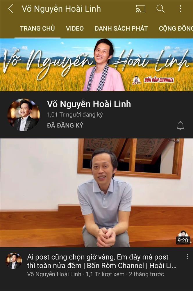 Hoai Linh chi follow nguoi tung
