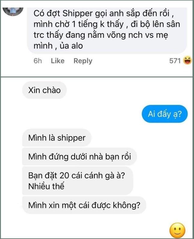 Shipper ly ky truyen: Goi khach la
