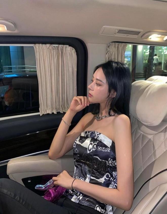 Nhan sac cua co gai toan di xe sieu sang noi tieng tren mang xa hoi-Hinh-5