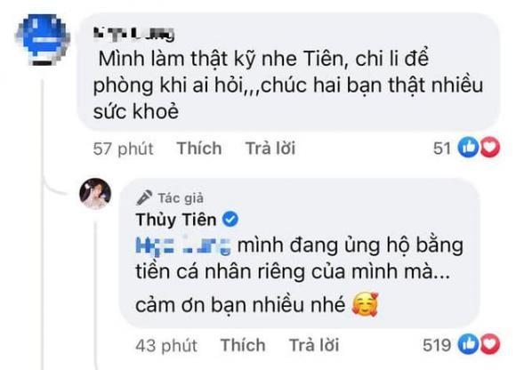 Bi nhac nho chuyen lam tu thien, Thuy Tien gay soc voi cau tra loi-Hinh-2