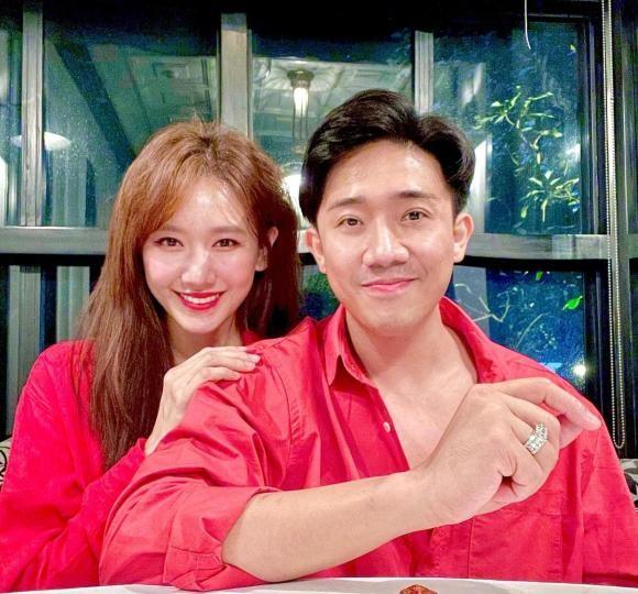 Tran Thanh de toc tai bom xom vao mua dich, Hari Won lien