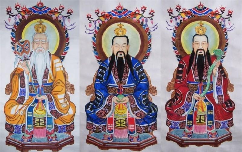 Hong Quan Lao To va ba dai de tu trong than thoai Trung Hoa la ai?