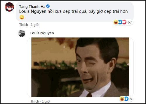 Tang Thanh Ha khoe anh thuo hen ho,
