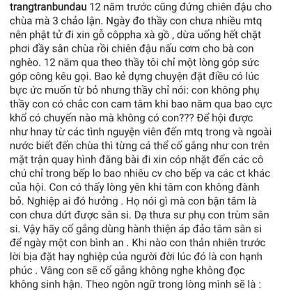 Trang Tran thua nhan
