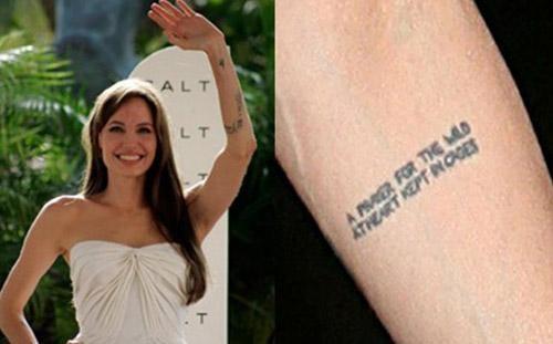 Y nghia cua gan 20 hinh xam tren co the Angelina Jolie-Hinh-19