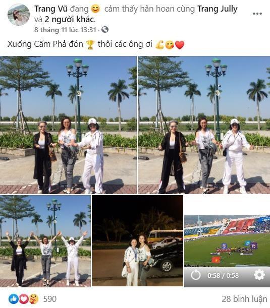 Huynh Anh khoe lam MC, me nuoi Quang Hai phan ung bat ngo-Hinh-4