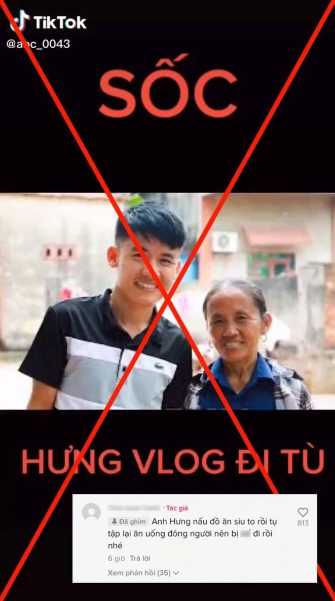 Su that ve thong tin Hung Vlog di tu 15 nam