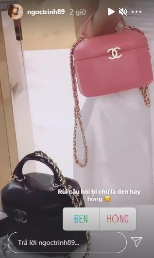 Mac dich benh kho khan, Ngoc Trinh van chi gan nua ty sam tui hieu-Hinh-4