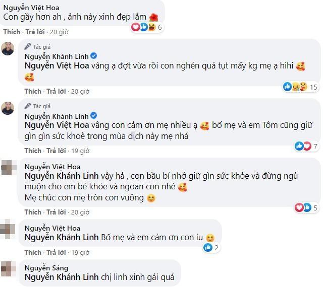 Ba xa khoe nhan sac bau bi, Bui Tien Dung tha comment hut nghin