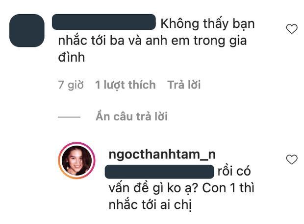Khoe anh voi me,Ngoc Thanh Tam dap tra khi bi hoi ve bo-Hinh-3