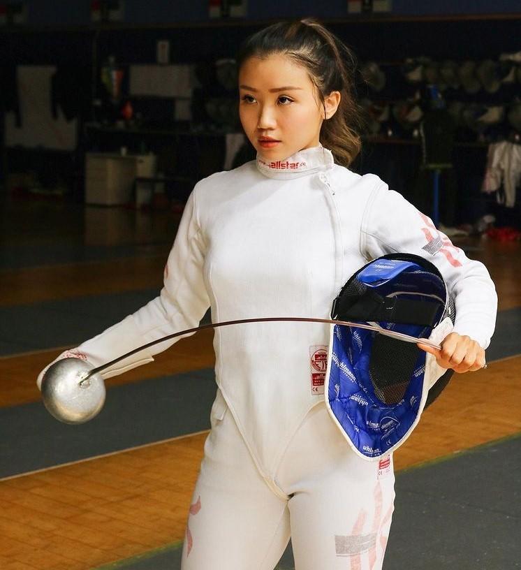 Nhan sac ngot ngao cua nu VDV dau kiem Hong Kong-Hinh-2