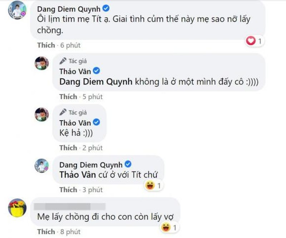 Con trai MC Thao Van khuyen me nen nghi den viec lay chong-Hinh-4