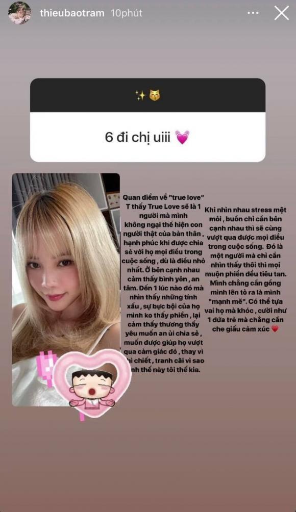 Thieu Bao Tram chia se ve chuyen tinh yeu sau lien hoan drama tinh ai-Hinh-2