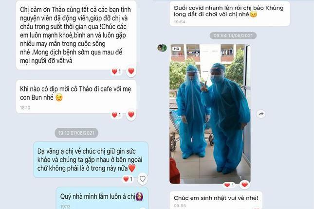 Nu sinh nam nhat vua hoc online vua tinh nguyen trong khu cach ly-Hinh-2