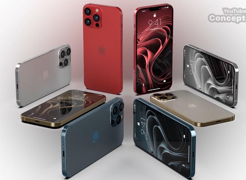 Ngam mau iPhone 13 Pro sap ra mat voi man hinh 120Hz dep long lanh-Hinh-2