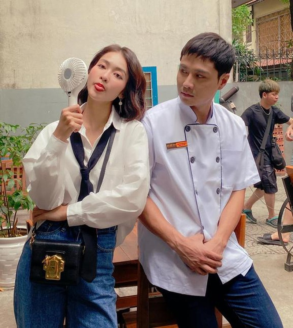 Thoi trang cua Phuong Oanh bi so sanh