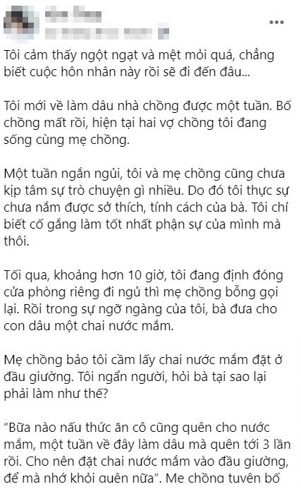 Chuan bi di ngu thi nang dau duoc me chong dua cho vat khong-lien-quan-Hinh-3