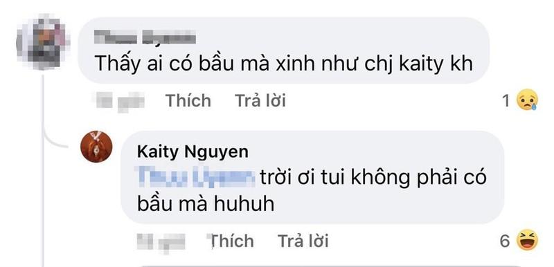 Dien vay lum lum, Kaity Nguyen bi nghi mang bau bi mat-Hinh-9