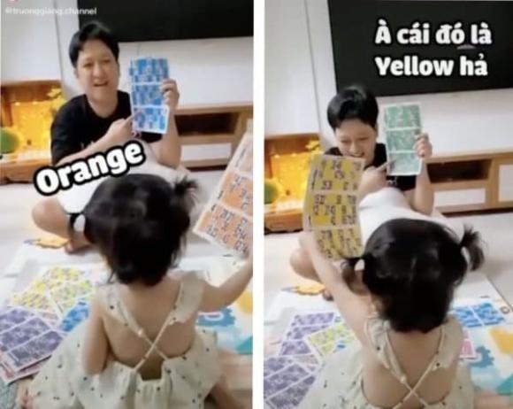 Moi 2 tuoi con gai Truong Giang doc tieng Anh
