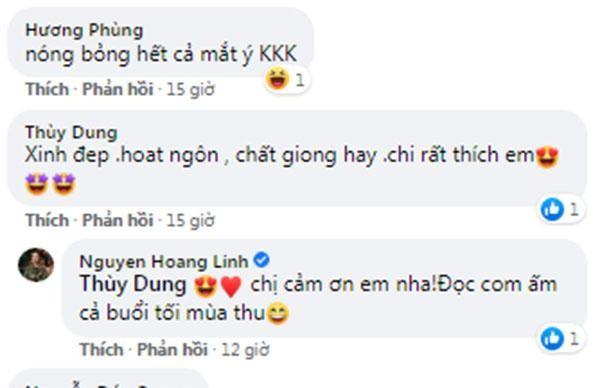MC Hoang Linh khoe ca ta anh
