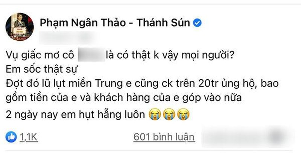 Bi mang vi doi Thuy Tien sao ke,