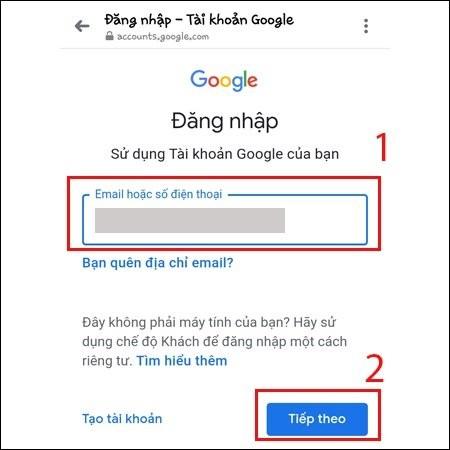 Meo lay lai mat khau Gmail ma khong can so dien thoai