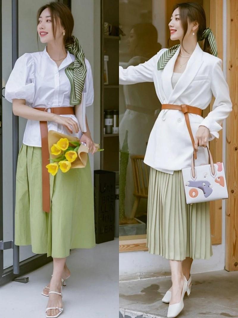 Blogger xu Trung goi y 4 tips chon do dep de dien vao mua thu