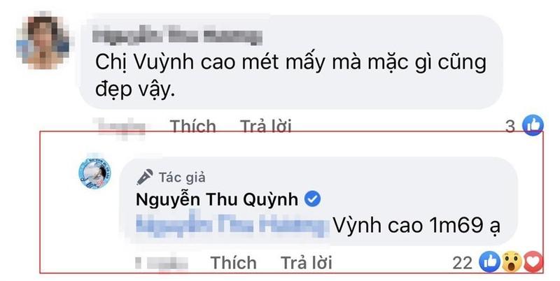 Chieu cao thuc su cua Thu Quynh