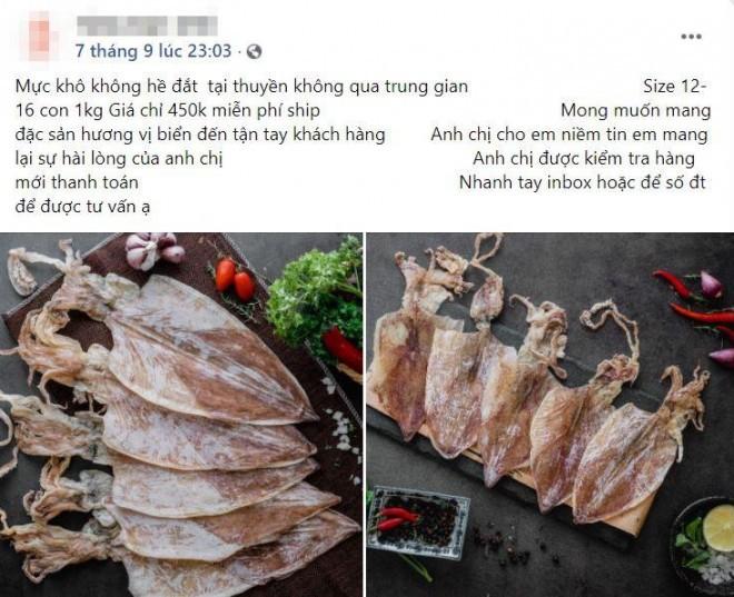 Muc kho gia re, chi 200.000 dong/kg loai muc to bang ca ban tay-Hinh-2