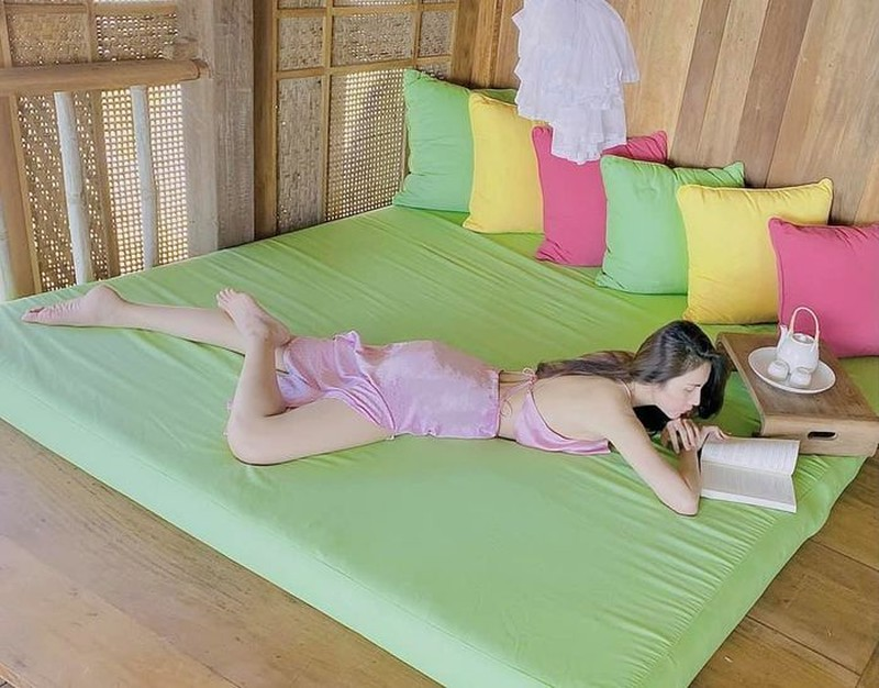 Bi quyet giam can lay lai vong eo thon gon sau sinh cua Thuy Tien-Hinh-4