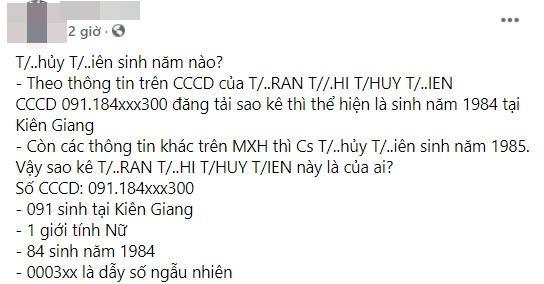 Thuy Tien sinh nam 1985 la thong tin ao?-Hinh-3