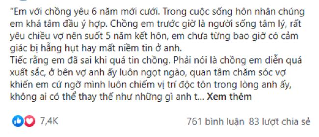 Bo cua chong dac y gui clip duoc cau hon cho toi
