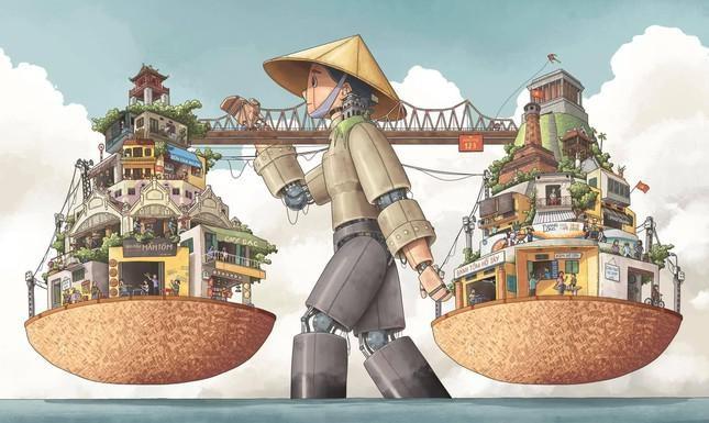 Chang hoa si tre theo duoi