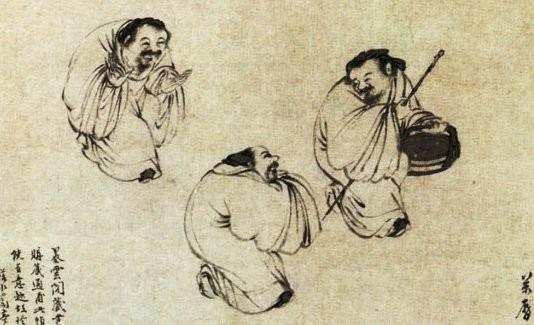 Phong to 3 lan buc tranh ky la ve 3 ong lao trong Bao tang Co cung-Hinh-2